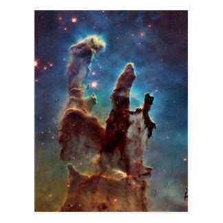 Nebelfleck-Säulen HDRs Eagle der Schaffung Postkarte