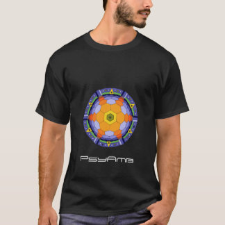 Nebelfleck-Schwarzes T-Shirt