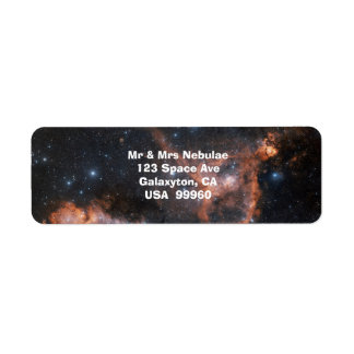 Nebelfleck-Weltraum-Astronomie-Aufkleber