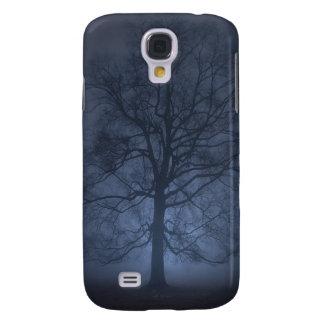Nebeliger Morgen-Baum iPhone 3G Fall Galaxy S4 Hülle
