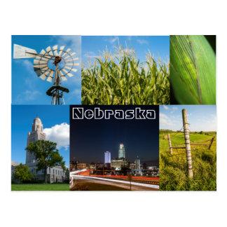 Nebraska Postkarte