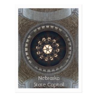 Nebraska-Staats-Hauptstadt Postkarte