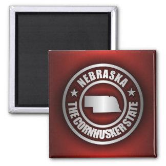 """Nebraska-Stahl 2"" Magneten Quadratischer Magnet"