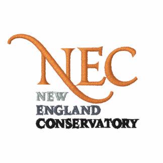 NEC gestickter ZipHoodie (weiblich) Besticktes Kapuzenpulli