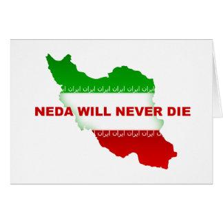 NEDA wird die nie Grußkarte