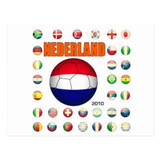 Nederland 2010 postkarte
