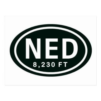 Nederland Co 8.230 FT-Aufzug NED Umbau-Postkarte Postkarte