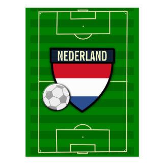 Nederland die Niederlande Fußball Postkarte