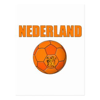 Nederland Fußball-T - Shirt Postkarte
