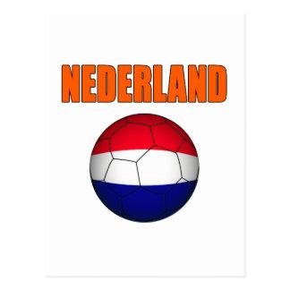 Nederland Fußball-T - Shirts Postkarte
