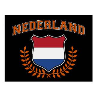 Nederland Postkarte