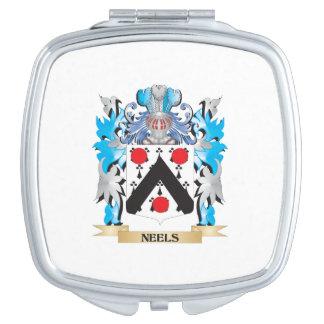 Neels Wappen - Familienwappen Taschenspiegel