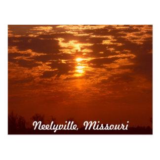 Neelyville Missouri Postkarte