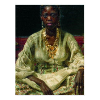 Negress Postkarte