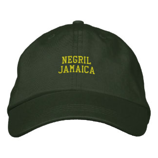 Negril Jamaika gestickt Bestickte Baseballkappe