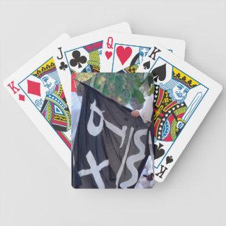 Nehmen hinunter Piratenflaggen-Plakatbild Bicycle Spielkarten
