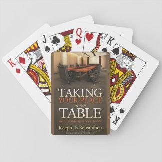Nehmen Ihrer Platz-Spielkarten Spielkarten