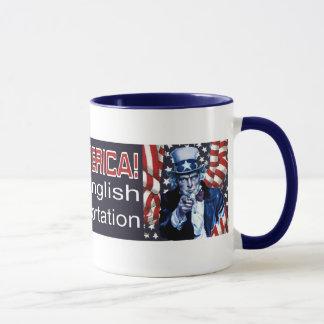 Nehmen Sie Amerika-Tasse zurück Tasse