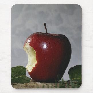 Nehmen Sie Biss aus Apple heraus Mauspad