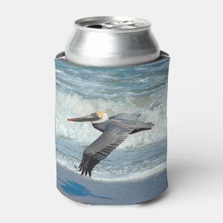 Nehmen Sie Flug! Pelikan kann Kühlvorrichtung