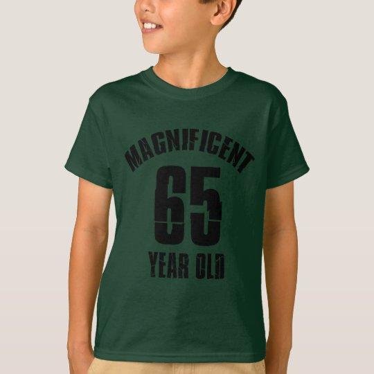 NEIGEN VON VON 65 JÄHRIG-GEBURTSTAGS-ENTWÜRFEN T-Shirt