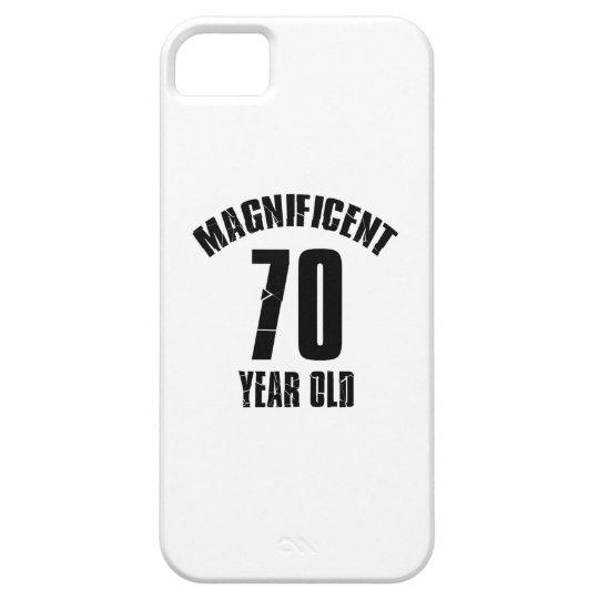NEIGEN VON VON 70 JÄHRIG-GEBURTSTAGS-ENTWÜRFEN BARELY THERE iPhone 5 HÜLLE