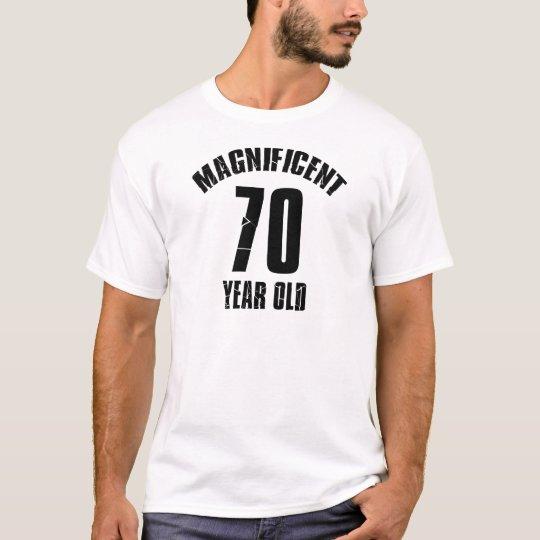 NEIGEN VON VON 70 JÄHRIG-GEBURTSTAGS-ENTWÜRFEN T-Shirt