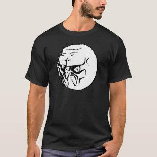 Nein Mürrisches Internet Meme T-Shirt