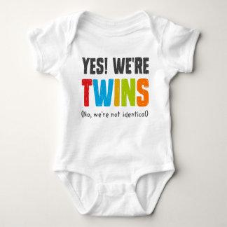 Nein, sind wir nicht identisch babybody