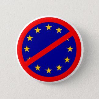 Nein zur EU Runder Button 5,1 Cm
