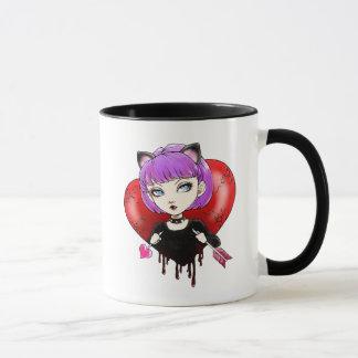 Nekomimi Anti-Valentinsgruß Tasse