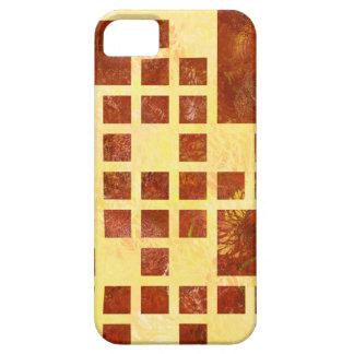 Nemissos V1 - gemalte Quadrate Schutzhülle Fürs iPhone 5