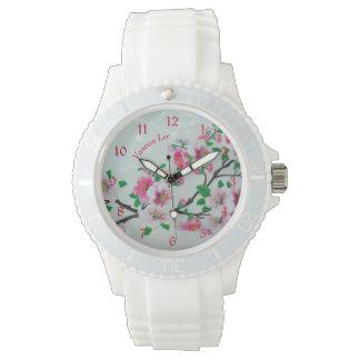 Nennen Sie Ihre Apple-Blüte Armbanduhr