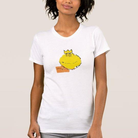Neo-expressionist glückliches Gesichts-Shirt T-Shirt