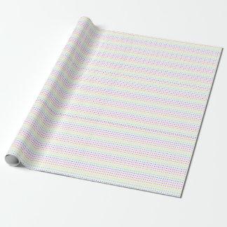 Neon geometrisch geschenkpapier