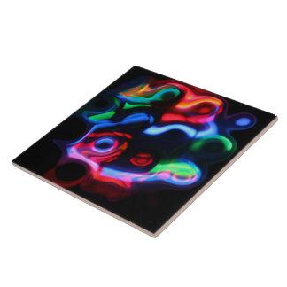 Neonlichter Keramikfliese