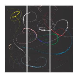 Neonlichter Triptychon