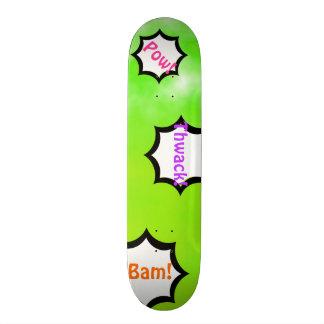 NeonLimeade grüne kundengerechte 19,7 Cm Skateboard Deck