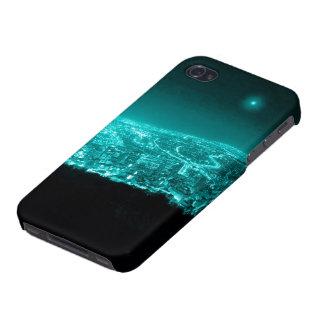 Neonstadt-Lichter iPhone 4/4S Hülle