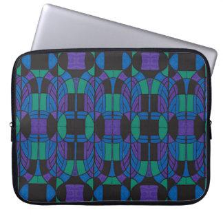 """Neopren-Laptop-Hülse 15"""" Deko-Bogen Mehrfarben Laptop Sleeve"""