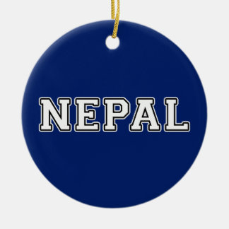 Nepal Keramik Ornament