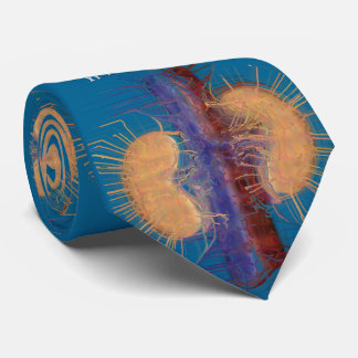 Nephrologe-Krawatten-einzigartiges künstlerisches Bedruckte Krawatte