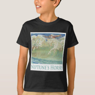 NEPTUN PFERDE REITEN DIE WELLEN T-Shirt