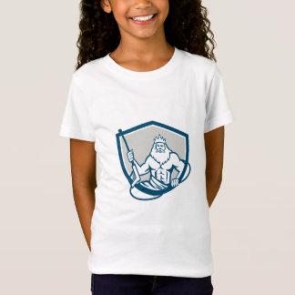 Neptun-Power-Waschmaschinen-Schild Retro T-Shirt