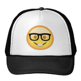 Nerd-Gesicht Emoji Retrokultkappe