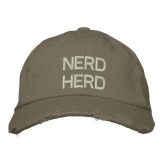 Nerd-Herde gestickter Hut