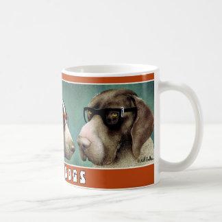 Nerd-Hunde Kaffeetassen