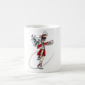 Nerdy Band-Mädchen Kaffeetasse