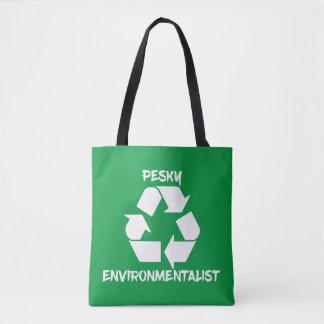 Nervtötender Environmentailist Tag der Erde Tasche