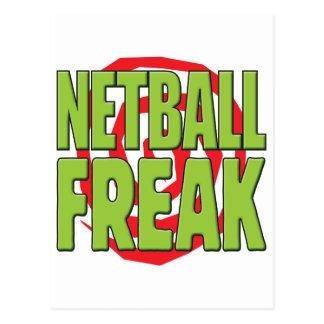 Netball ungewöhnlicher G Postkarte